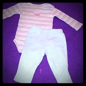 Baby girl Carter two-piece